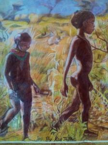 Maasai Youths Walk - Total £6.50 GBP