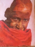 Maasai Youth - Total £6.50 GBP